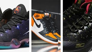 "UA Curry 3 Fake, Jordan 1 Shattered Backboard Returns, Jordan XXX ""Cosmos"":Today in Sneaks"