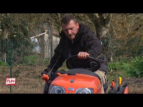 Luçon : les travaux de jardinage
