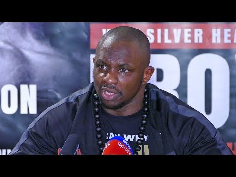 Dillian Whyte POST FIGHT PRESS CONFERENCE After Knocking Out Lucas Browne