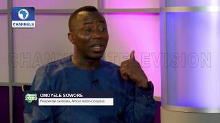 Sowore Faults Nigeria's Anti-Graft War, Vows To End Corruption Using Technology |Roadmap2019|
