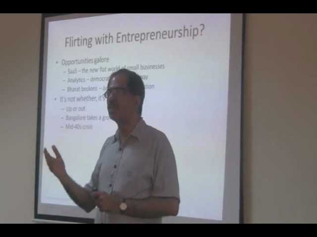 Sharad Sharma on &quot;Finding the Hobbyist Within&quot; at Startup Saturday Bangalore