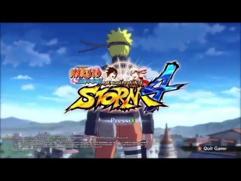 Naruto Storm 4 on asus a455LN