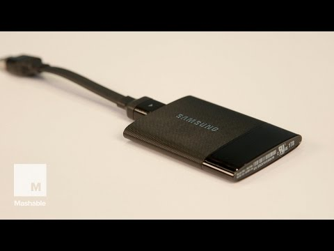 Samsung Portable SSD T1 Review | Mashable