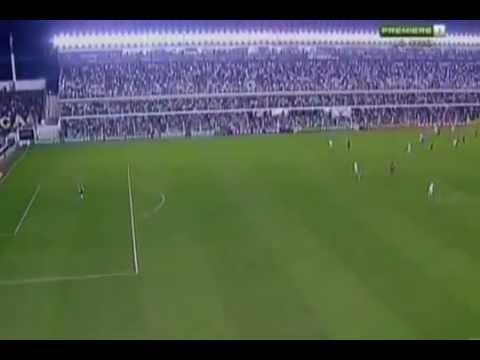 El mejor gol del año 2011 / Neymar Da Silva / Santos vs Flamengo