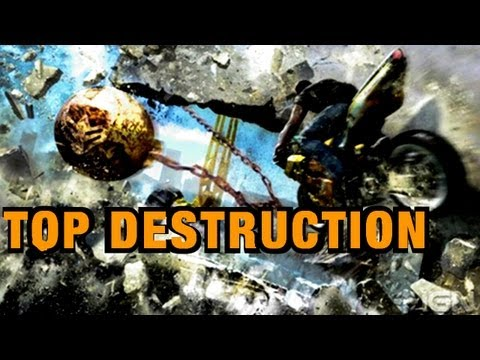 Best Destruction Games, Top 10, top ten destruction on videogames
