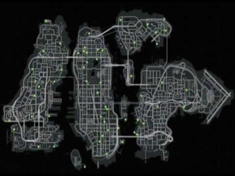 gta iv map. GTA IV - Maps