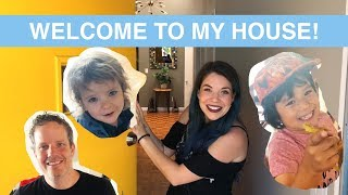 WELCOME TO MY CHANNEL + HOUSE TOUR + BIG ANNOUNCEMENT!