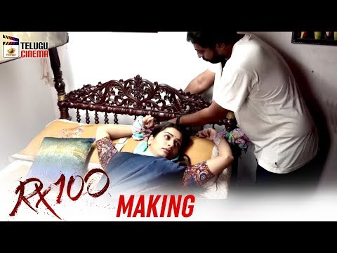 RX 100 Movie Making | Karthikeya | Chaitan Bharadwaj | 2018 Latest Telugu Movies | Telugu Cinema