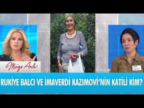 Rukiye Balcı ve İmaverdi Kazımovi'nin katili kim? - Müge Anlı İle Tatlı Sert 14 Aralık 2017