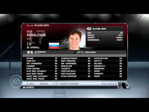 NHL 12: GM Mode Commentary - New Jersey ep.1