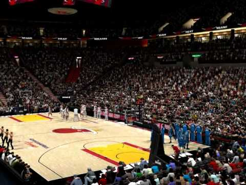 NBA 2K10 Miami Heat tribute