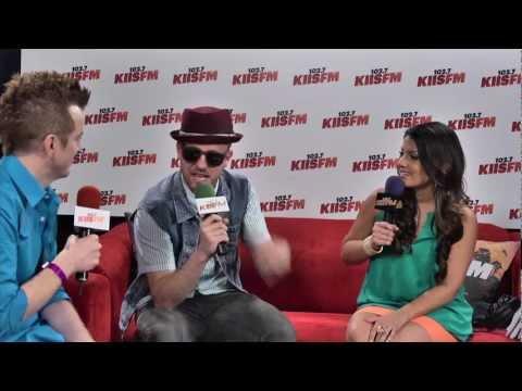 KIIS-FM's Wango Tango 2012: Wallpaper Interview