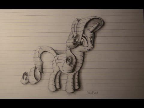 Рарити рисунки карандашом