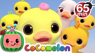 Five Little Ducks 3D | +More Nursery Rhymes & Kids Songs - Cocomelon (ABCkidTV)