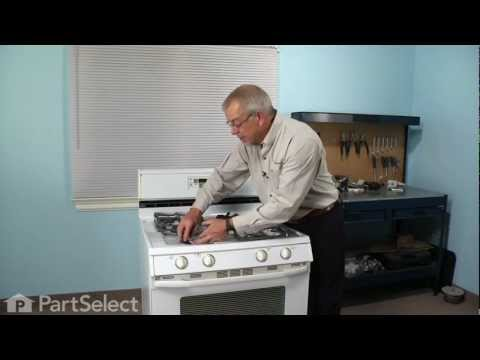 Range/Stove/Oven Repair - Replacing the Top Burner Igniter (Whirlpool Part # 74004053)