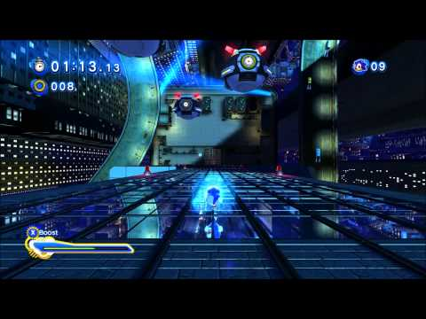 Sonic Generations - Speed Highway Gameplay