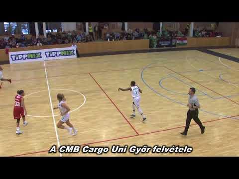 CMB Cargo Uni Győr - Aluinvent DVTK |73-76| 2018. március 04. | DVTK TV