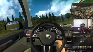 Euro Truck Simulator 2 | Scoda Superb Multiplayer |