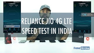 Reliance Jio 4G LTE Speed Test In India