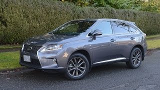 2014 Lexus RX350 F-Sport review