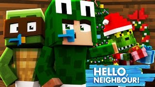 Minecraft Baby Hello Neighbour - BABY GRINCH STOLE CHRISTMAS!