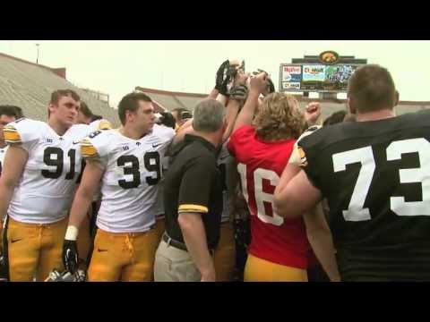 Iowa Football Final Spring Practice 2013