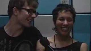 Matt and Kim Kinda Drunk Interview @ SXSW 2007