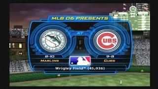 MLB 06: The Show (Florida Marlins Season) Game #19 - FLA @ CHC