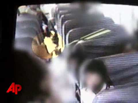 Raw Video: Teen Girl Draws Gun On School Bus video