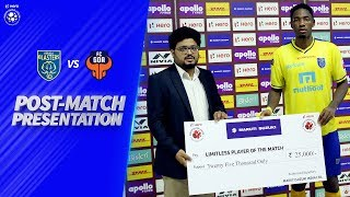Post-Match Presentation - Kerala Blasters FC vs FC Goa | Hero ISL 2019-20