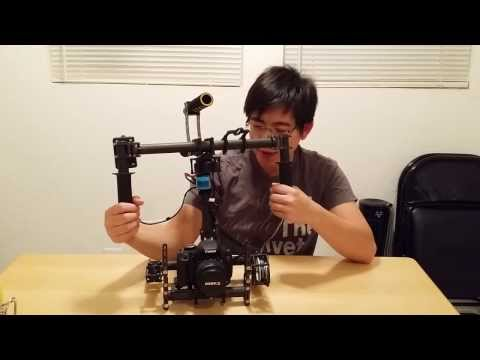 DSLR 3 Axis Handheld Brushless Gimbal.