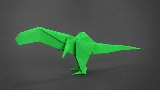 Origami: T-Rex V2 - Instructions in English (BR)