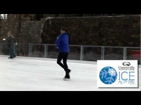 Figure Skater at Greenville Technical College Ice On Main
