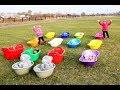 Правильный Уход за новорожденными детьми Счастливые дети и родители Веселое видео