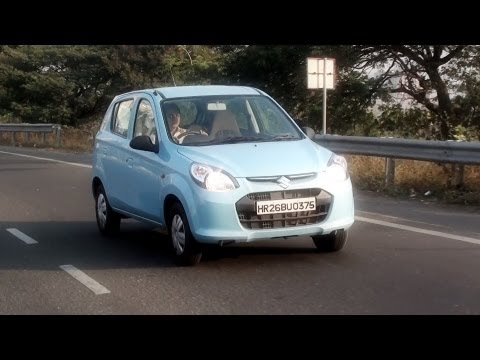New Maruti Suzuki Alto 800 Road Test   Video Review