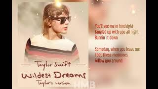 Download lagu Taylor Swift - Wildest Dreams (Taylor's Version) (Lyrics Video) (Radio Edit snippet)