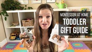 MONTESSORI AT HOME: Montessori Gift Guide for Toddlers!