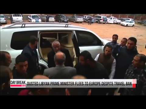 Ousted Libyan PM Zeidan flees country despite travel ban