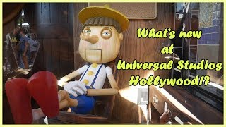 What's New at Universal Studios Hollywood?!