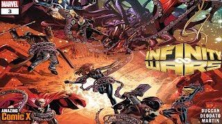 Gamora dobla el universo Marvel y a todos los Vengadores - Infinity Wars #3