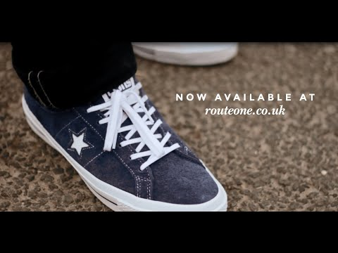CONS One Star Hairy Suede