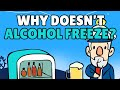 Why Doesn T Alcohol Freeze mp3