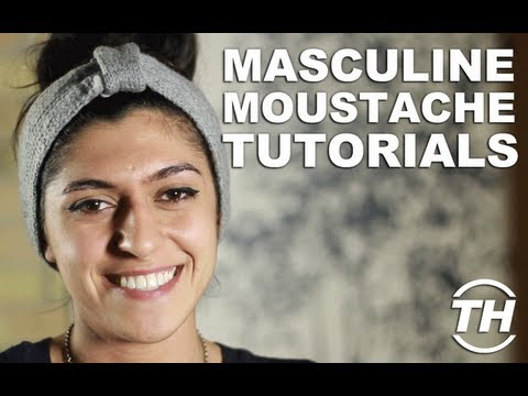 Masculine Moustache Tutorials - Simal Yilmaz Shares Tips on How to Grow the Best Moustache
