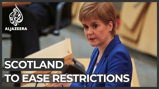 Scotland lockdown: First minister announces lifting restrictions