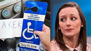 Innocent Woman Parks In Disabled Spot – Returns To Find Insulting Letter On Car Window