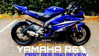 Yamaha R6 First Ride And Review