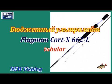 Бюджетный ультралайт Flagman Cort-X 662L tubular