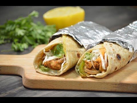 Tandoori Chicken Roll