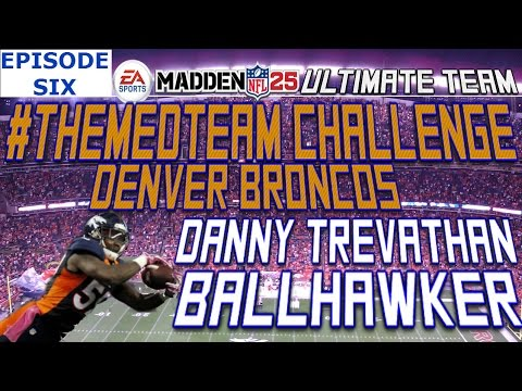 #MUT25 XBOX ONE H2H | #ThemedTeam Denver Broncos | Danny Trevathan Ball-hawking Machine  | Game 6