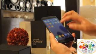 Samsung S8 Plus a detalle Replica Exacta